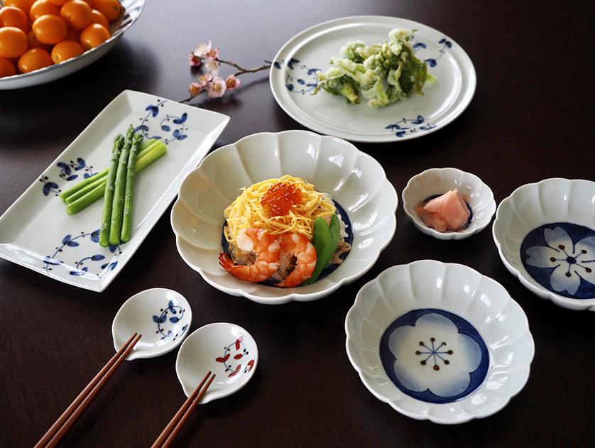 和食器 有田焼 藤正 おとなの日々器 手描き 染付 皓洋窯